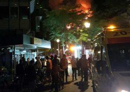 De brand bij de FEBO in Tilburg, 2 augustus 2017